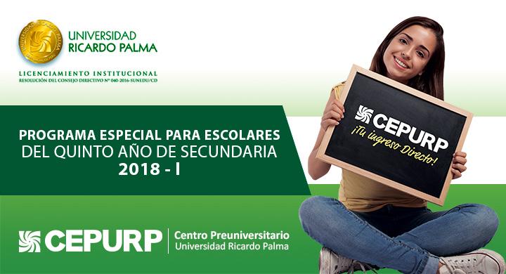 UNIVERSIDAD RICARDO PALMA - CEPURP