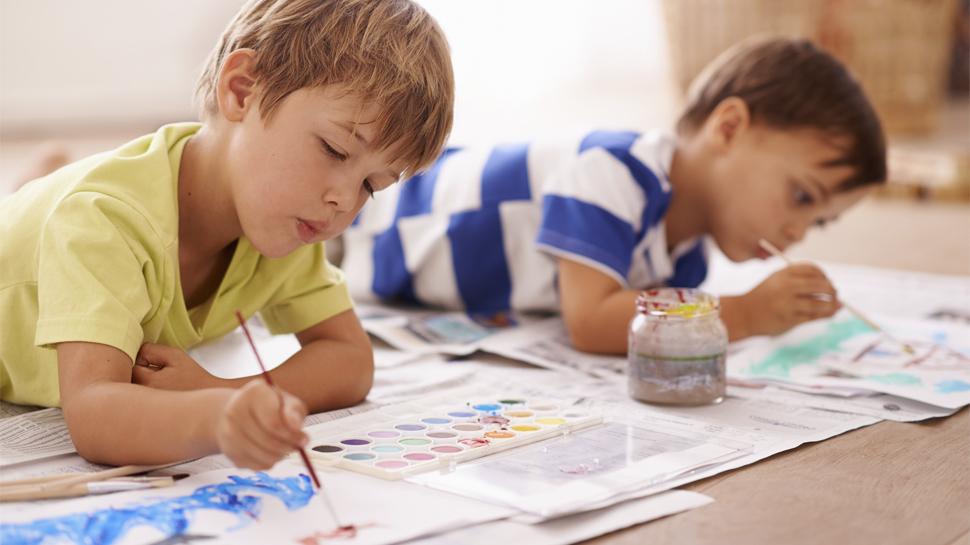 Incentiva el arte a tus pequeños desde la infancia