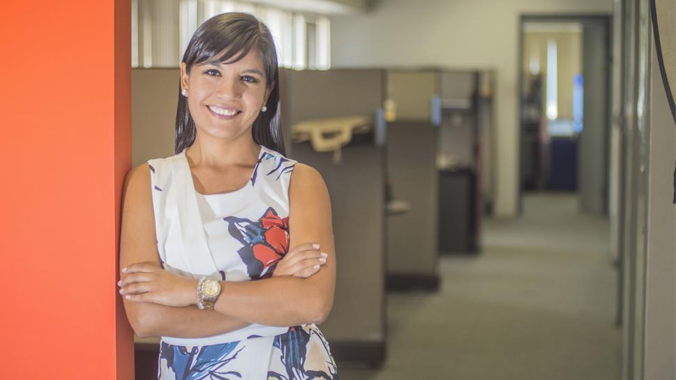 KARÍN ALIAGA, Ejecutiva pago de haberes del BCP