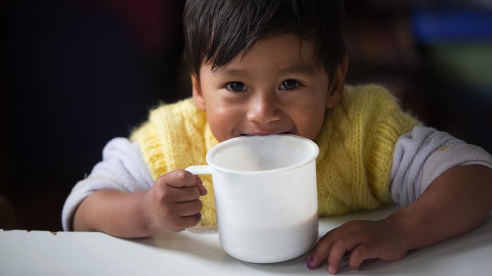 Estos son los programas que combaten la desnutrición infantil